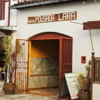 Pousada Lara em Pirenópolis - Entrada Rua Direita